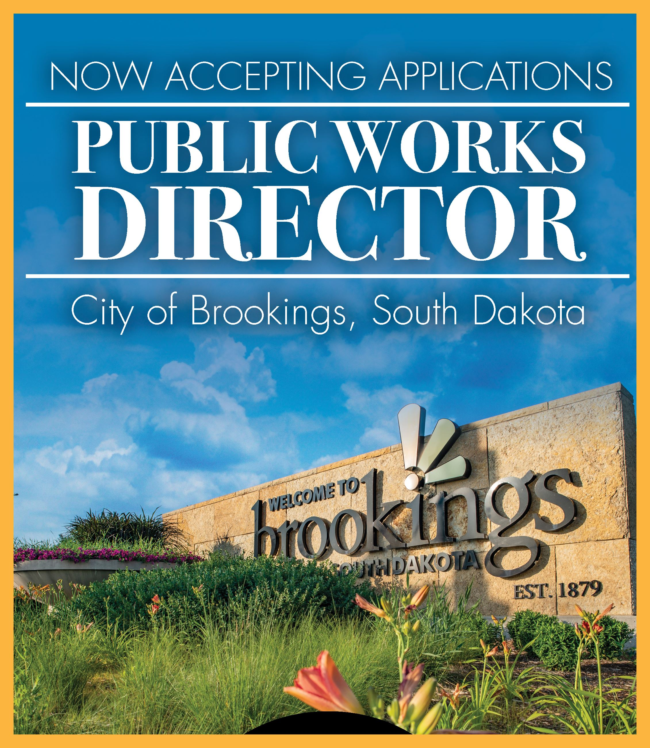 News Flash Graphic - Public Works Director