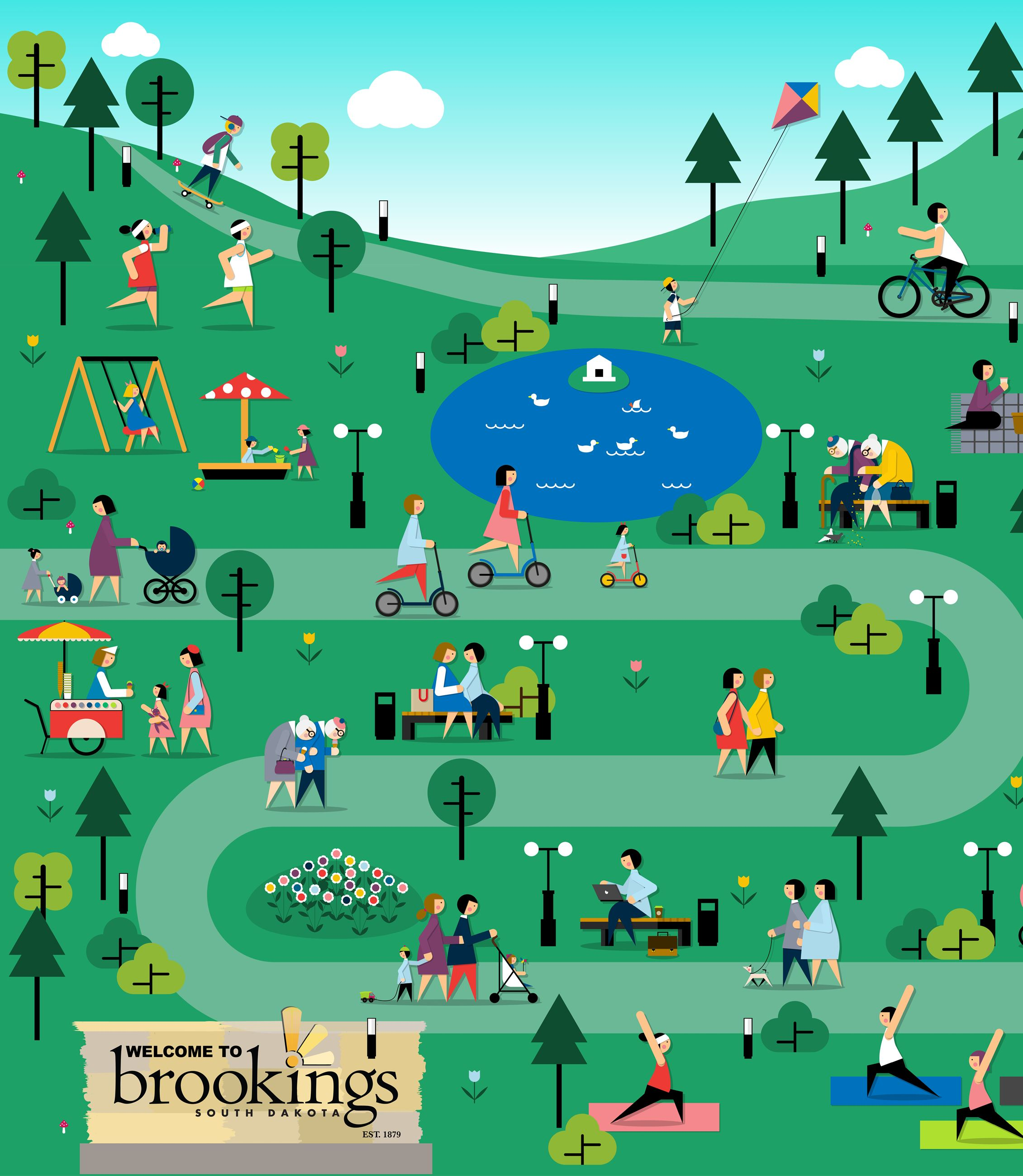 News Flash Graphics Template - Brookings Parks and Recreation
