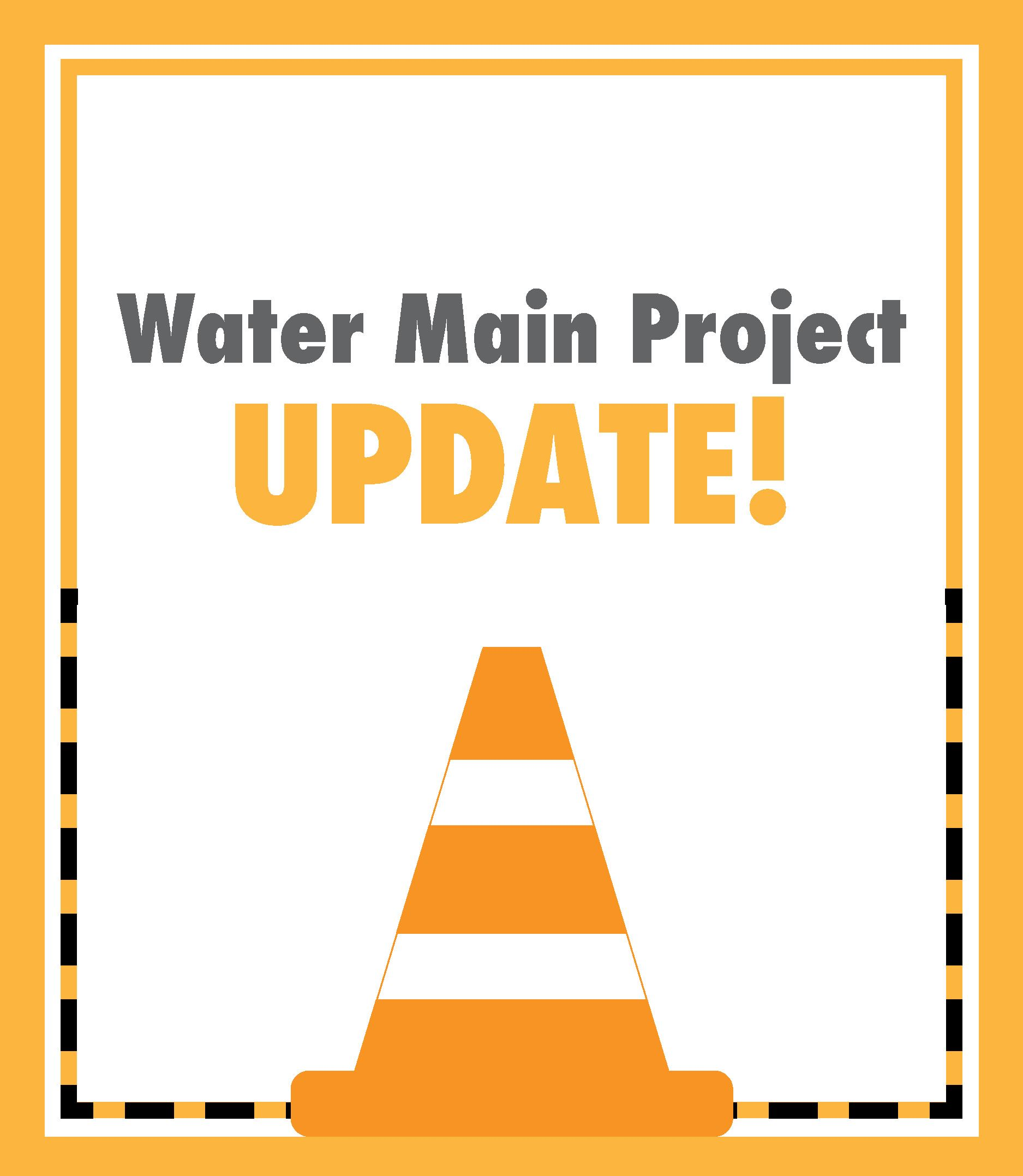 Newsflash Graphic Water Main Update