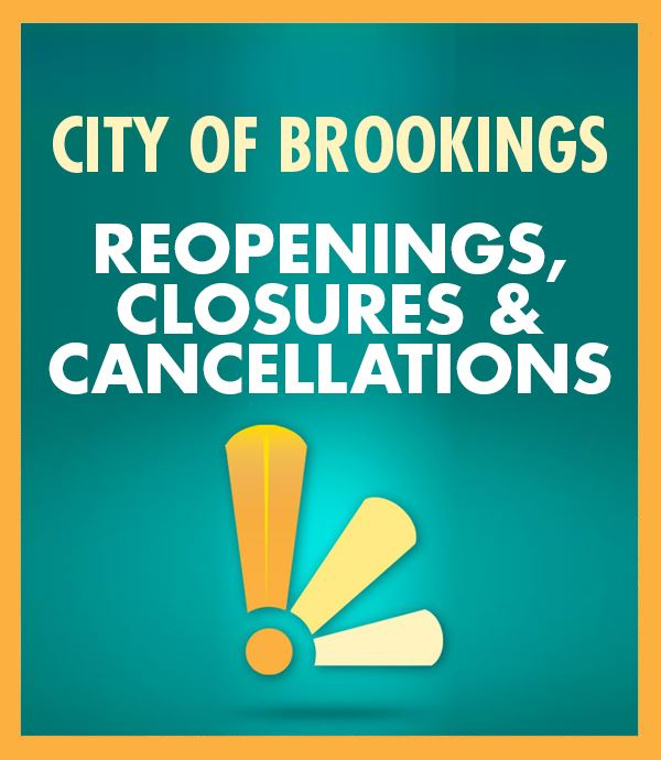 Reopenings Closures and Cancellations