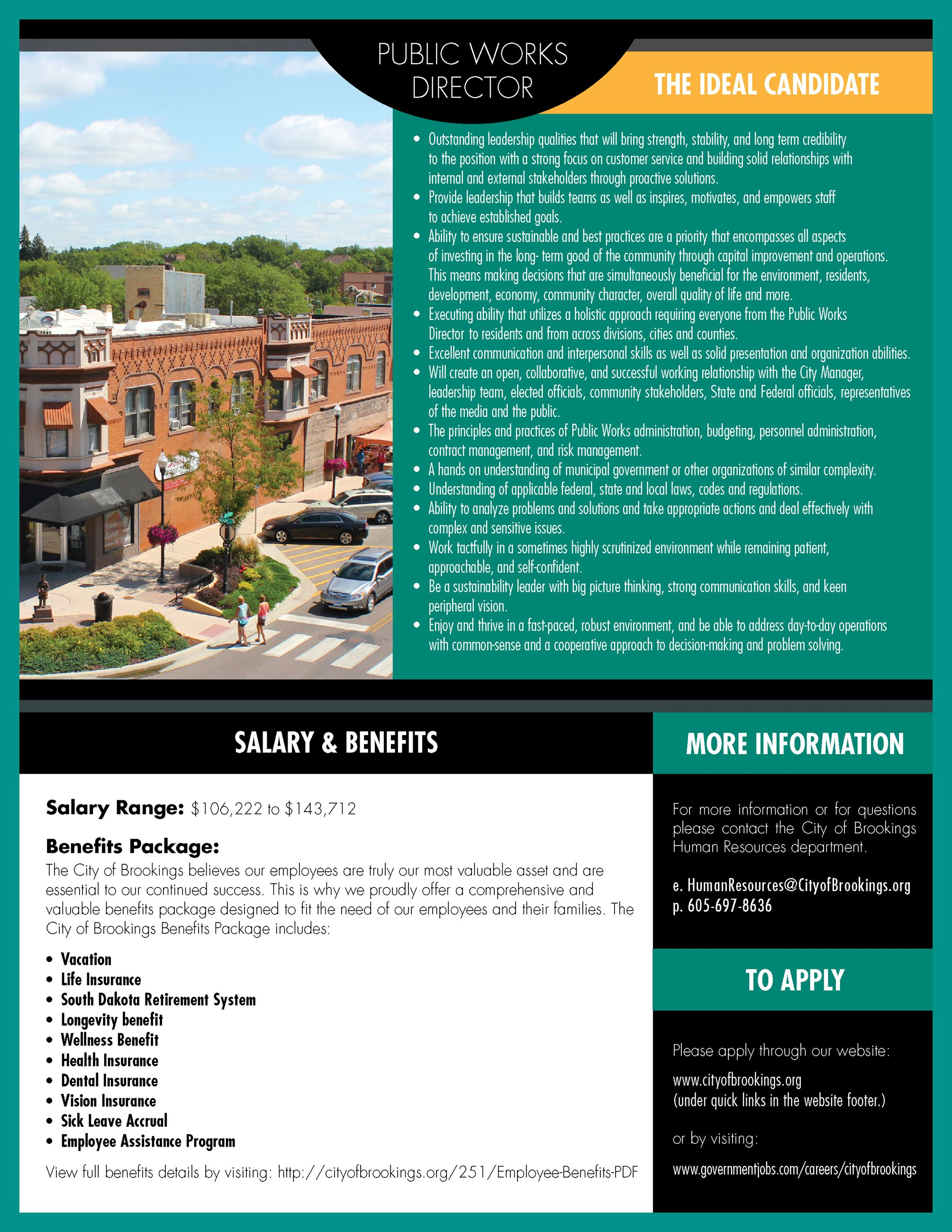 Job Posting Public Works Flyer page 4- PDF available for download in link on page Opens in new window