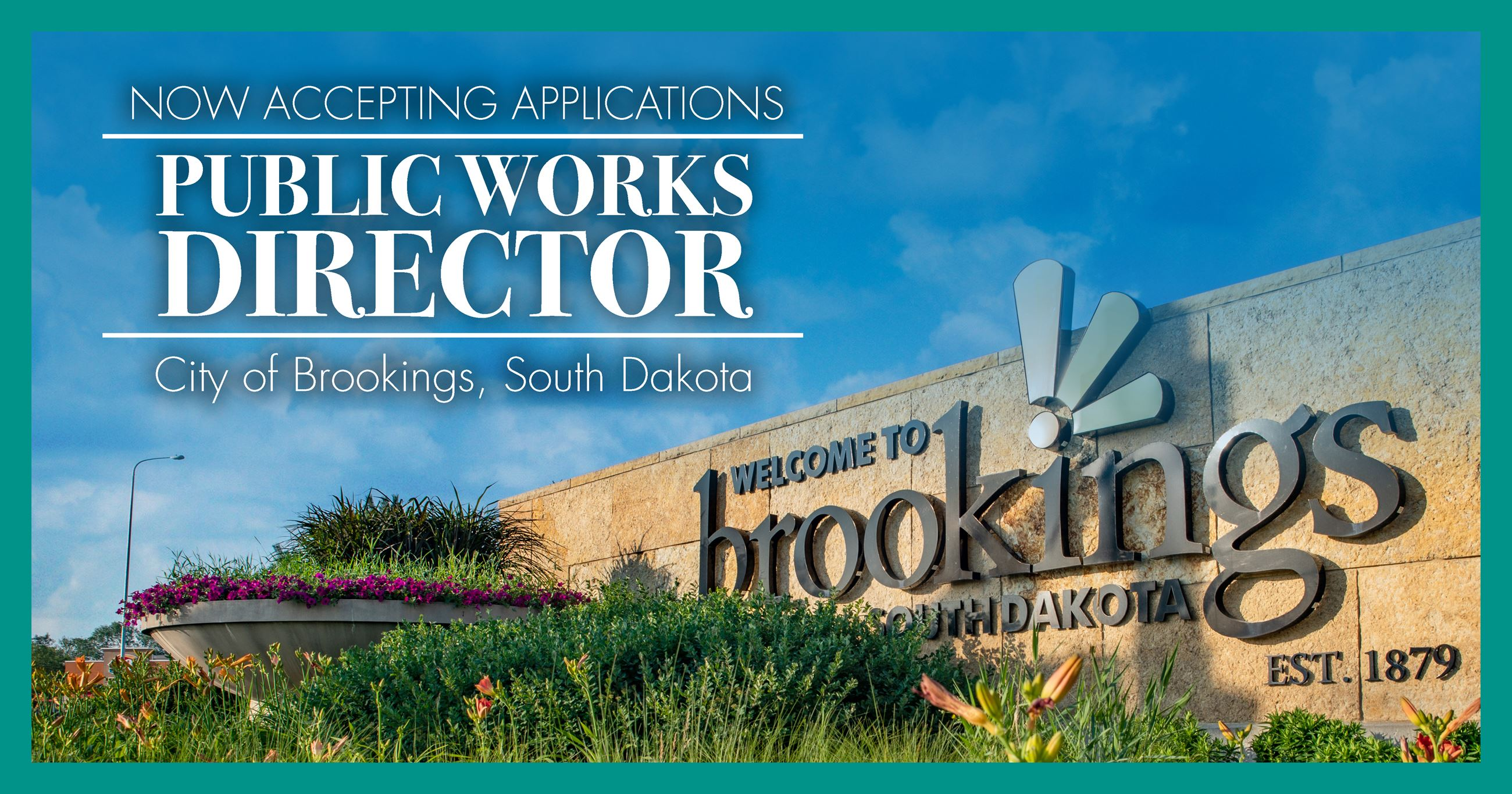 The City of Brookings is hiring a public works director