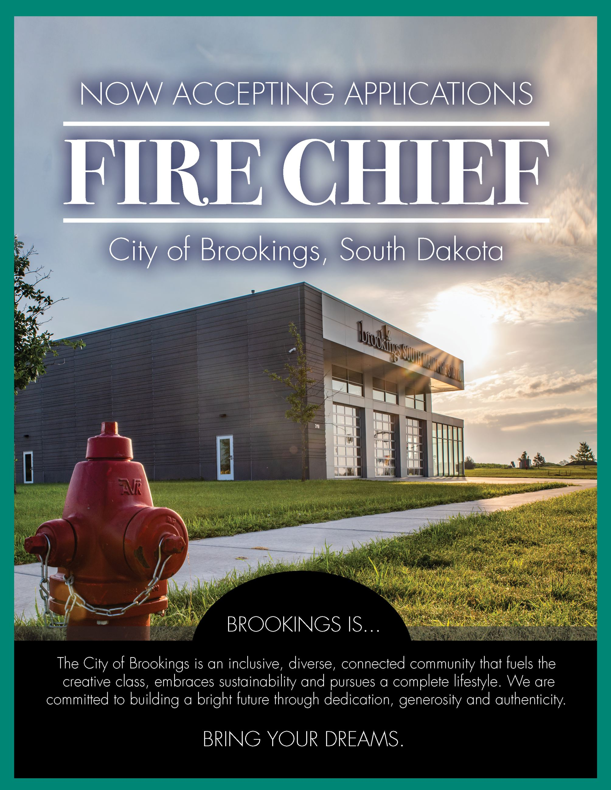 Brookings Fire Chief Ad Page 1