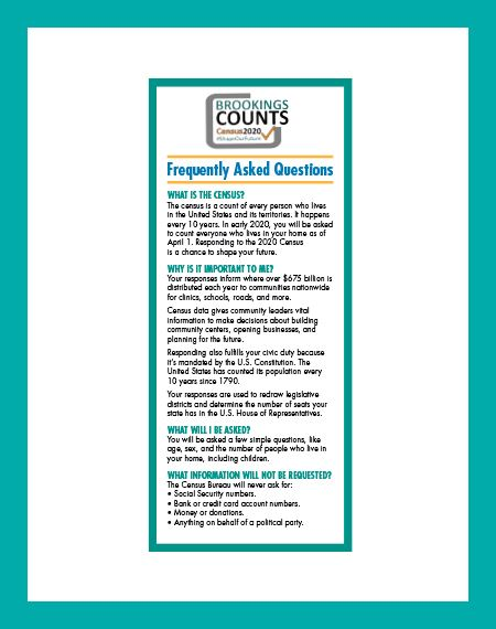 Brookings Counts FAQ Flyer Icon Opens in new window