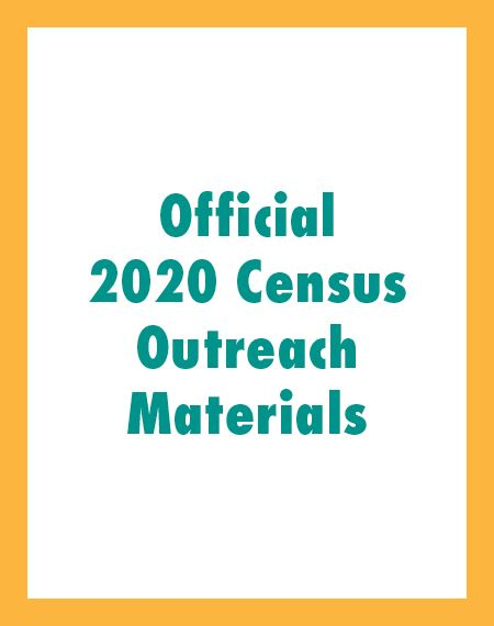 Official 2020 Census Outreach Materials Icon