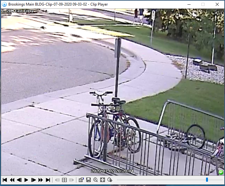 Potential witness Person walking