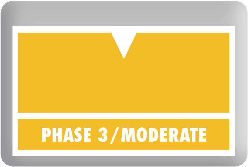 Phase 3 Moderate